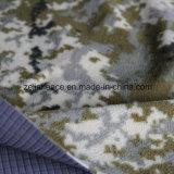 担保付きファブリック、Camoのマイクロ羊毛および穴があいたマイクロ羊毛