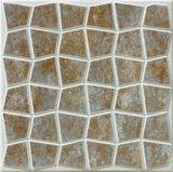 建築材料、装飾材料、無作法な床タイル、無作法な磁器の床タイル、スリップの黄色の灰色の床タイル300*300mmのチェッカーパターン床タイル無し、