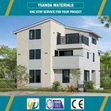 Almacén con marco de acero de la estructura con el panel concreto ligero