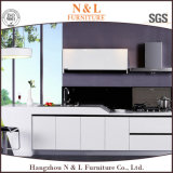 Gabinete de cozinha de madeira do MDF da mobília Home moderna