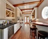 供給によってカスタマイズされる安く白い木製の台所食器棚