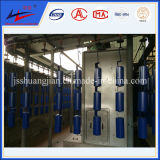 Sistema de transportador profesional de la flecha del transportador de la fábrica doble del rodillo de China