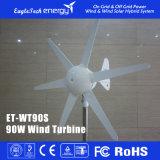 Gerador da energia de vento do sistema 90W-300W das energias eólicas