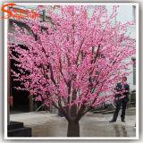 Rosafarbene künstliche Baum-Kirschblüte für Garten-Dekoration