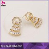 Konzipiert spätester Ohrring des Goldneue 2016 Dubai-Goldschmucksache-Ohrring