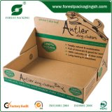 Cabeçalho superior Custom Print Corrugated Display Box Wholesale