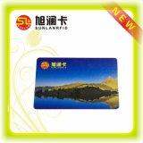 Cartão esperto do plástico RFID da venda de Prefessional para Ticketing