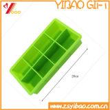 Utensílios de cozinha Make Makes 8 Cubos extra grandes Cubeta de cubo de gelo quadrado de silicone
