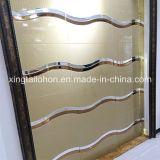 Vario vidrio de aluminio claro endurecido del arte del espejo del vidrio de hoja