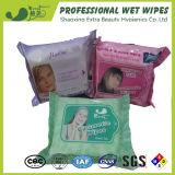 El cuidado de piel compone los tejidos mojados del removedor para las mujeres