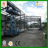 Magazzino industriale della struttura d'acciaio di basso costo dell'installazione facile