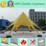 Barraca da praia da estrela da tampa de PVC do fornecedor de China a melhor