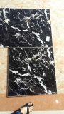 Польностью отполированный застекленный мраморный каменный цвет пола Tile-60X60-Dark