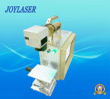 Mini máquina de mano portable de la marca del laser de la fibra del metal para la venta