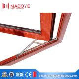 Guichet en verre de tissu pour rideaux en aluminium avec le réseau d'acier inoxydable