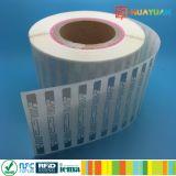 Étiquette ÉTRANGÈRE d'étiquette de marqueterie d'IDENTIFICATION RF du H3 ALN-9630 Squiglette