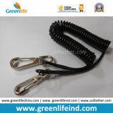 Cuerda retractable fuerte de la seguridad de los útiles para los ganchos de leva de la protección W/Snap
