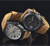 El ejército militar del cuarzo de la manera Yxl-377 de Mens del reloj de Curren de la marca de fábrica de los relojes de los hombres del cuero clásico del deporte mira el reloj grande de la dial de la promoción