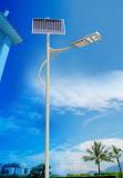 Usine solaire extérieure de la Chine de réverbère de l'éclairage DEL de la haute énergie 72W