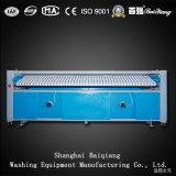 ISO genehmigte drei Rollen Flatwork Ironer industrielle Wäscherei-Bügelmaschine