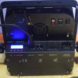 luz ULTRAVIOLETA de la radio DMX DJ LED de 12X15W RGBWA con la batería