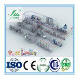 Chaîne de production pour des produits laitiers de qualité pour la vente