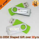 선물 (YT-1201-06)를 위한 주황색 금속 USB3.0 지팡이를 회귀하는 고속