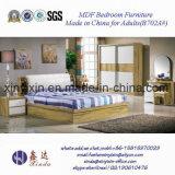 최신 판매 나무로 되는 침대 고급 호텔 침실 가구 (702A#)