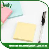 Almofada de nota pegajosa das notas pegajosas feitas sob encomenda ajustadas pegajosas da nota