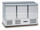 Мраморный верхний холодильник таблицы приготовление уроков пиццы нержавеющей стали