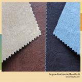Cuoio dell'unità di elaborazione con tessuto impresso per il sofà