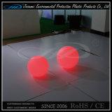 De LEIDENE Plastic Bal van het Meubilair met het Veranderen van de Kleur