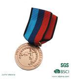 O bronze feito sob encomenda do metal da alta qualidade ostenta a medalha do fornecedor de China