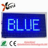 P10 Blue Single Color Module LED de l'écran de texte de l'affichage publicitaire