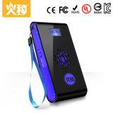 Côté portatif de pouvoir de dent bleue pour le téléphone mobile