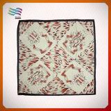 110*110cm Custom Printing auf Silk Square Scarves