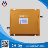 Amplificador sem fio do sinal do telefone de pilha do repetidor 2g 3G do poder superior