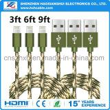 Cable de datos del USB de la buena calidad de Shenzhen