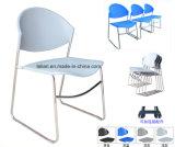 عامّ بلاستيكيّة كدّس كرسي تثبيت في معدن ساق ([لّ-0007])