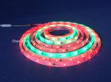 Farbenreicher SMD5050 Streifen des RGB-IP67 Chip-60LEDs 18W DC24V LED