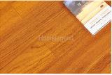 Revestimento de madeira projetado da folhosa da cor Teak natural