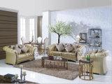 上の大理石のダイニングテーブルおよび6脚の椅子の家具