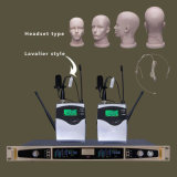Sistema sin hilos del micrófono de la frecuencia ultraelevada de la diversidad verdadera de la alta calidad Ls-601