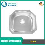 Aço inoxidável S6054 da alta qualidade sob o dissipador de cozinha da montagem