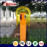 Cabina de teléfono del capo motor acústico de la reducción del nivel de ruidos para el teléfono público
