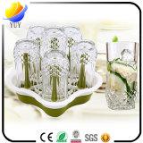 茶またはワインのための熱い販売法の昇進のギフトのガラスコップ