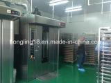 De gama alta de 64 bandejas giratorias eléctricas horno de pan Línea de producción de las máquinas de panadería