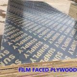 Le film de Brown a fait face à la qualité de colle du contre-plaqué WBP de construction de contre-plaqué