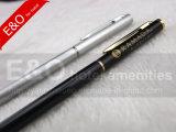 Stylo à bille en métal mince de haute qualité, stylo d'hôtel populaire