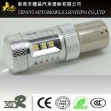 phare automatique de lampe de regain de lumière de véhicule de 15W DEL avec 1156/1157, T20, faisceau léger de Xbd de CREE du plot H1/H3/H4/H7/H8/H9/H10/H11/H16